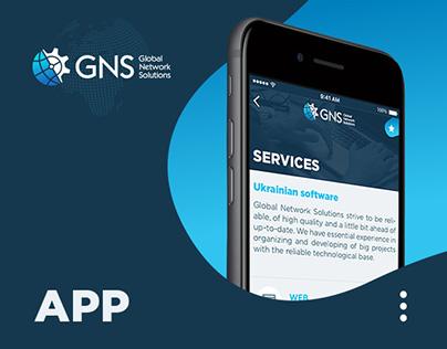 GNS-IT | App design