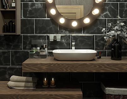 Bathroom / Визуализация ванной комнаты