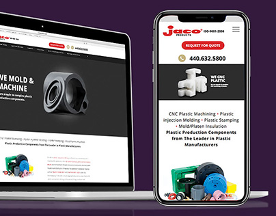 Jaco Products Website Redesign