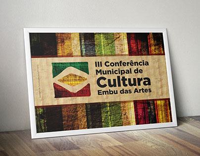 Convite - III Conferência Municipal de Cultura