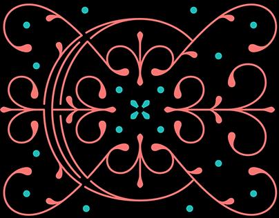 Set of Monograms