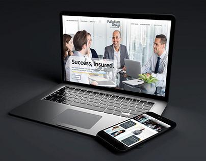 Palladium Financial Advisors Website