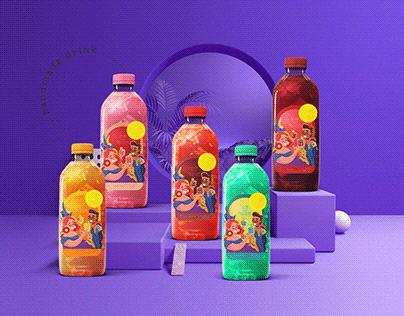 Label design for artesanal drink
