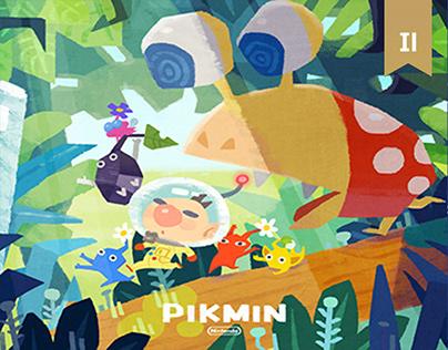 """""""Pikmin"""" Fanart"""
