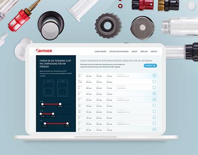 Bittner GmbH website redesign