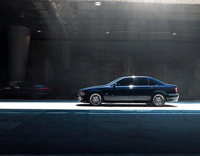 BMW M5 in Downtown LA