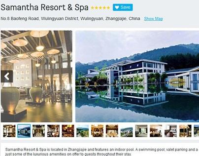 Samantha Boutique Hotel & Spa at Zhangjiajie