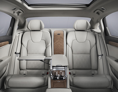 Volvo S90L Interior - China