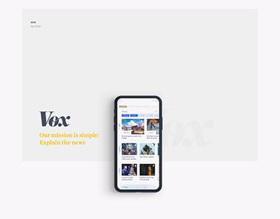 Vox News app