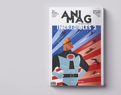 Animag Magazine Design