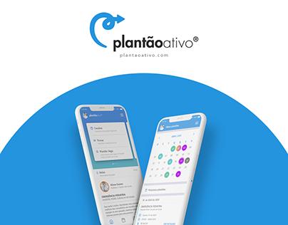 Plantão Ativo - Novo app