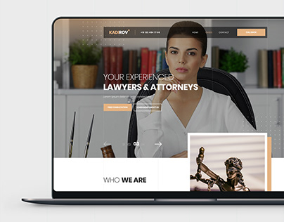 Lawyer Company - PSD template