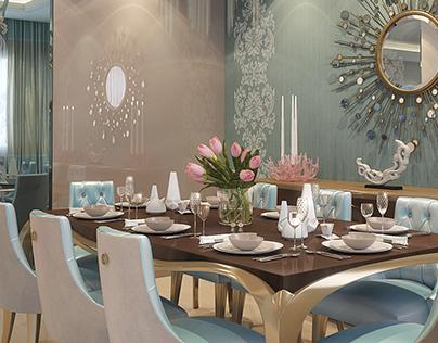 luxury contemporary apartment in beirut (Hazmieh)