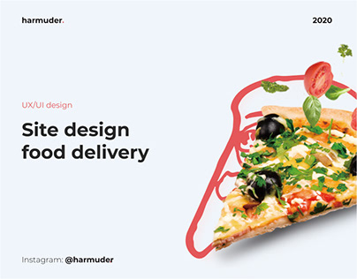 Site design food delivery