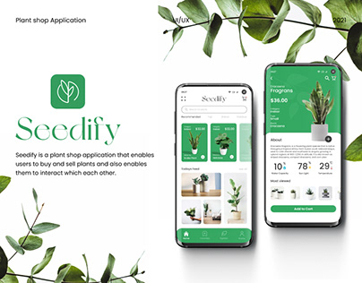 Seedify   Plant App Design
