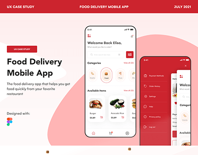 Food Delivery Mobile App UX Case Study