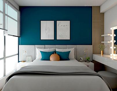 NF Arq & Diseño Interior Proy. LosOlivos I Dormitorio P