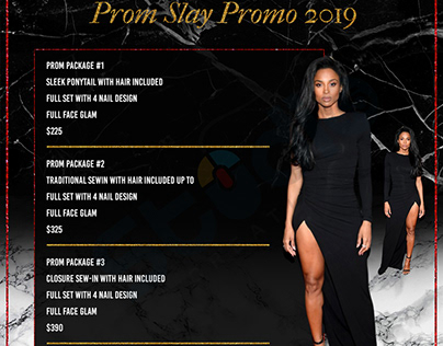 Prom Slay Promo / Flyer