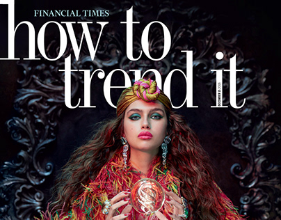 Sandrine&Michael for Financial Times (editorial)