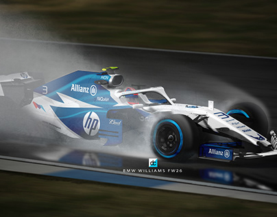 F1 'Re:imagined' Liveries on track