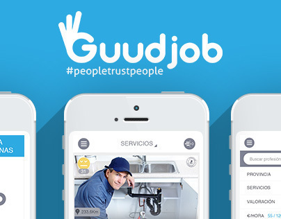 Mobile App | #Guudjob  #app #interface #UI #UX