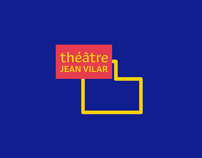 TFE | Théâtre Jean Vilar (Rebranding)