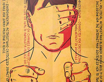 "Social poster ""Indifference Kills"""