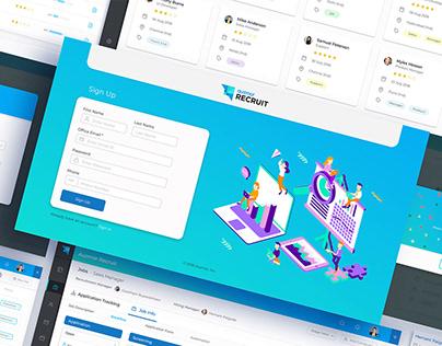 UI/UX design for Modern HR Software