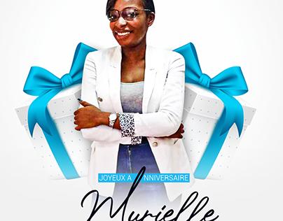 Happy Birthday Murielle