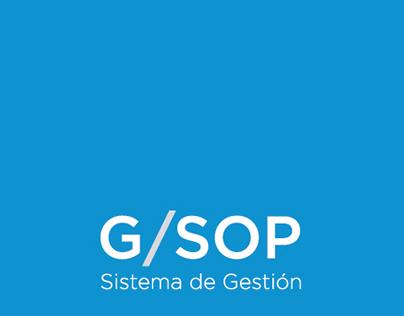G/SOP - Rediseño de logotipo y estética de intranet
