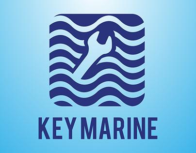 Key Marine logo and logo animation