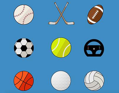 Animated Sports Icons