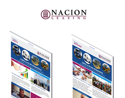 Newsletter / Mailing - Nación Leasing