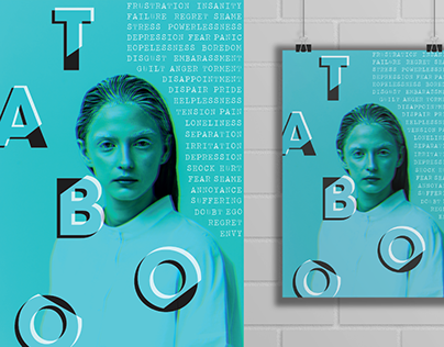 Typography Posters - Taboo