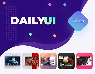 Daily UI: 11 - 15