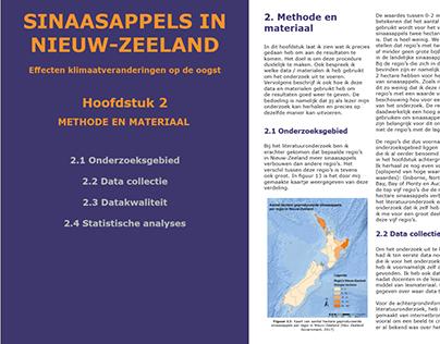 Rapport klimaatveranderingen op de sinaasappel in NZ