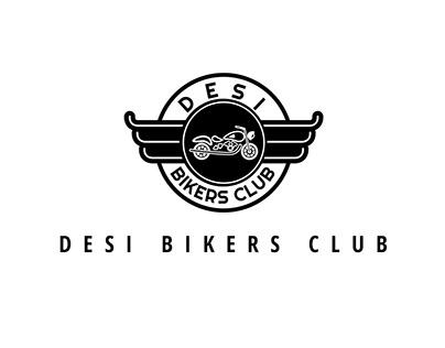 Desi Bikers Club Logo and Branding
