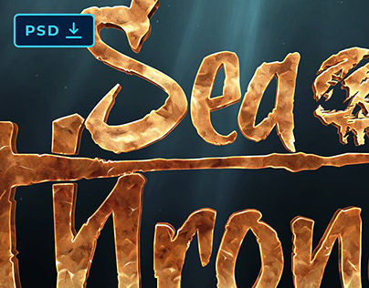 SEA OF THIEVES TEXT EFFECT [PSD]