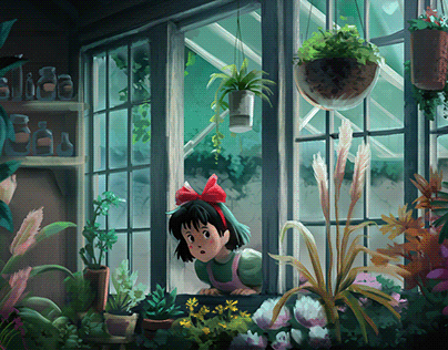 Ghibli's film shots studies