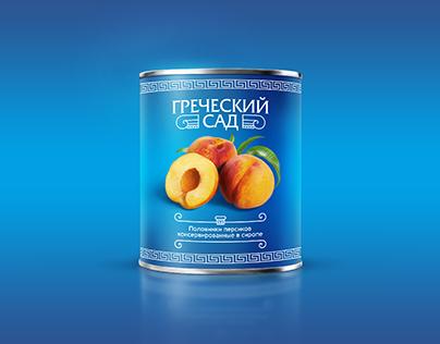 Greece Garden Peaches