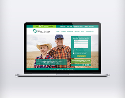 WellMed Medical Management (Website Concept)