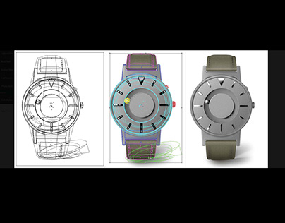 Realistic Vector Watch