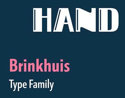 Brinkhuis typeface