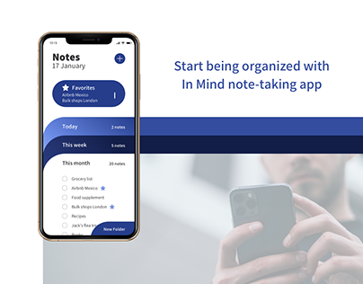 In mind | Note-taking app