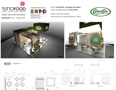 TUTTOFOOD EXPO Costa d'Oro Allestimento