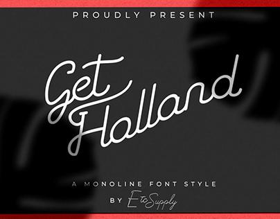 GetHolland| A Retro Font