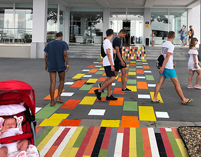 Colored Rug | Urban Art&Design