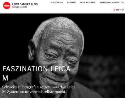 Leica M / Carmine Castelli for Leica Camera Switzerland