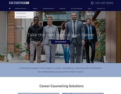 Career Consultation Website Design