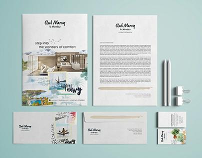 Club Marvy Resort Branding